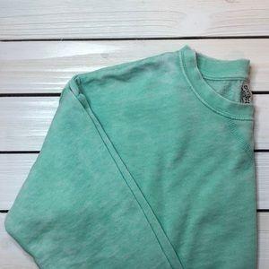 H&M Sea-foam Green Cropped Sweater